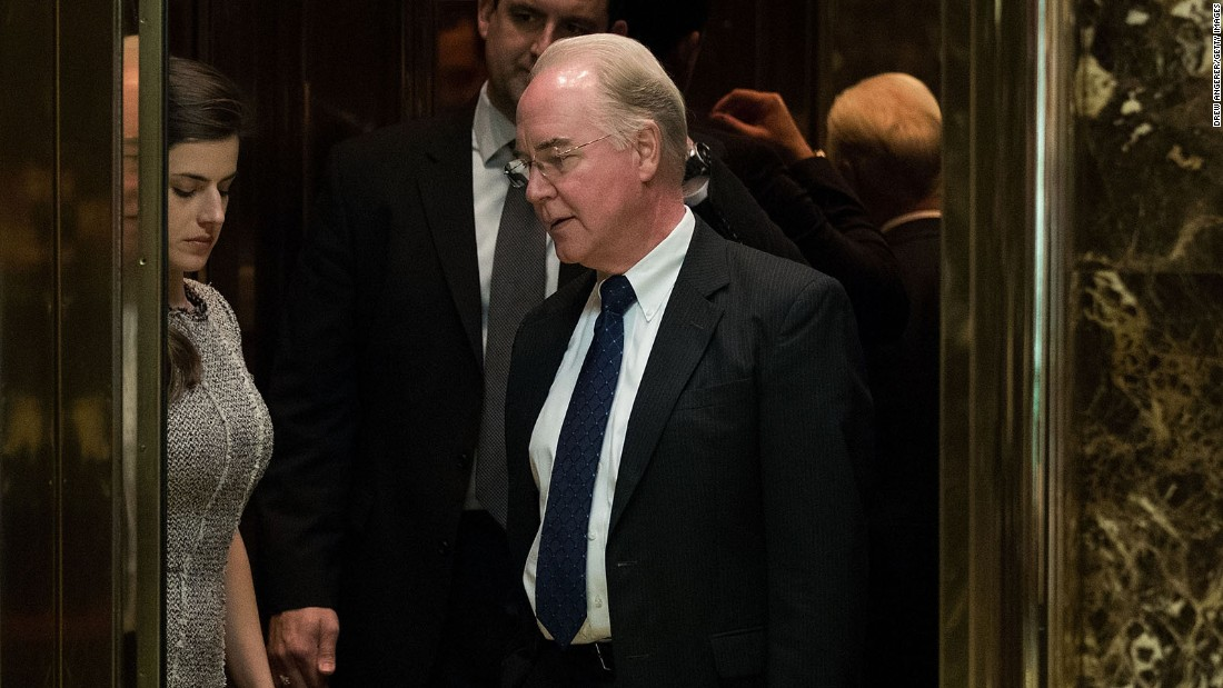 HHS nominee: Financial dealings were legal
