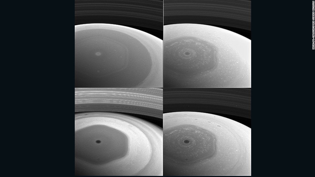 Closing in on Saturn's mysterious hexagon