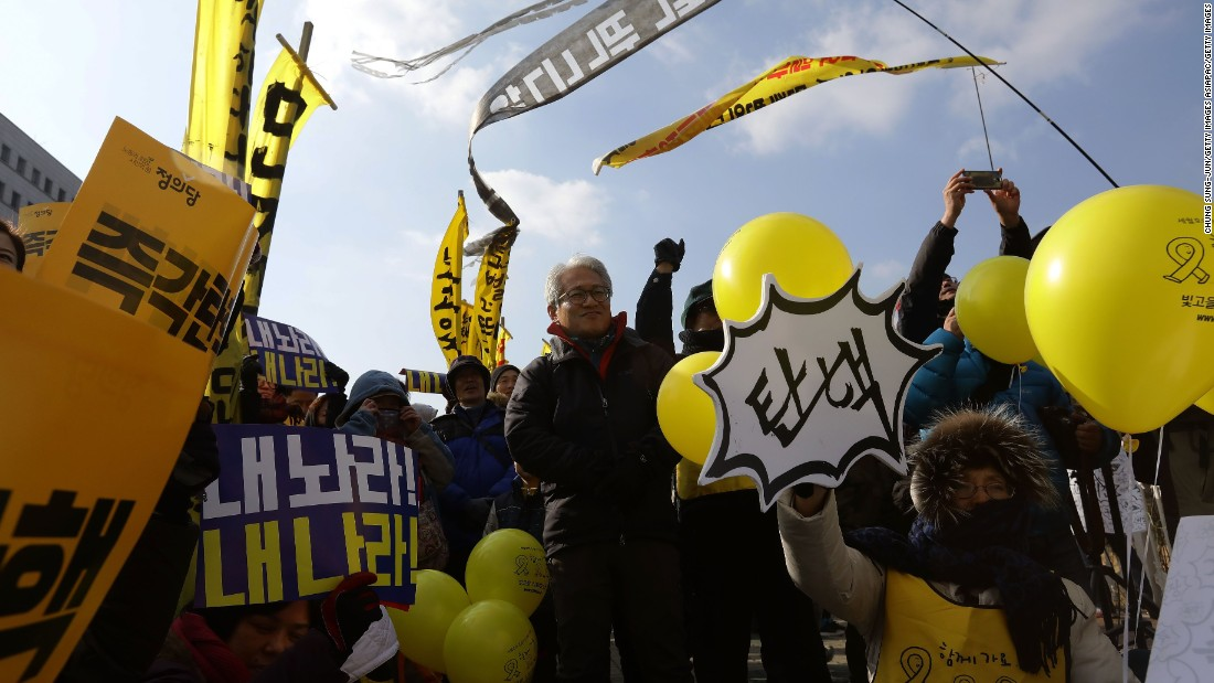 S. Korean president may be pushed from office over scandal
