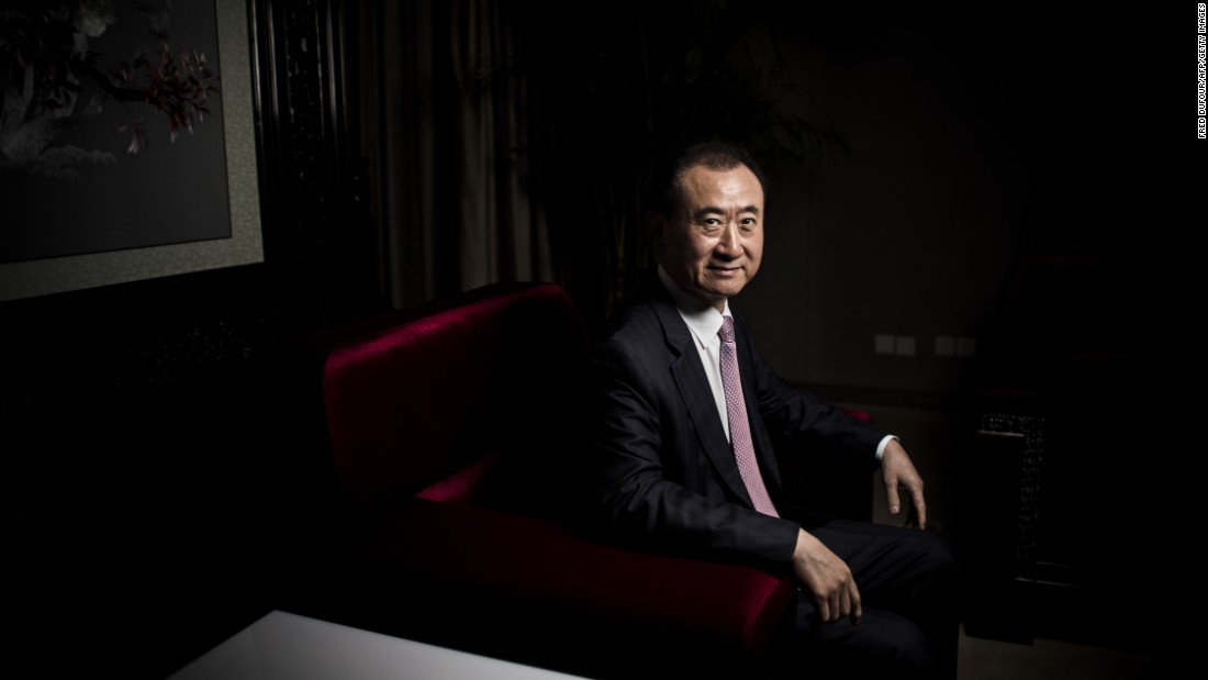 China's richest man wants Hollywood studio