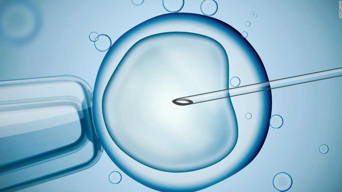 Baby born using controversial IVF technique