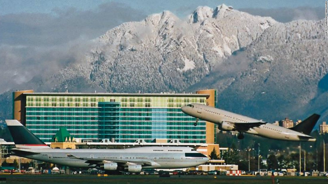 The world's most luxurious airport hotels