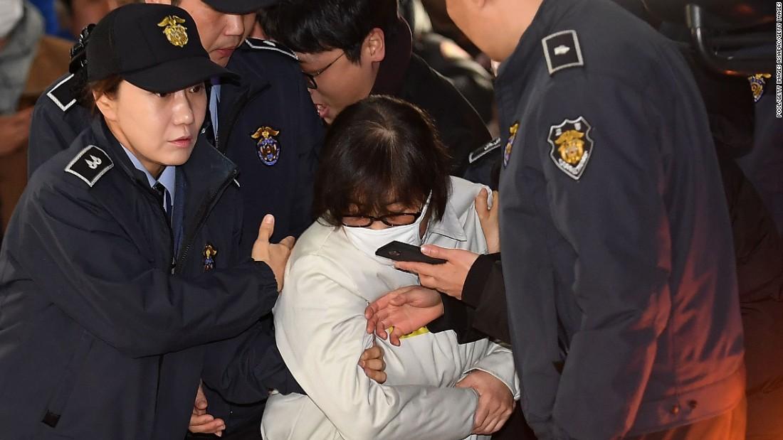Ousted South Korean president's confidante sentenced