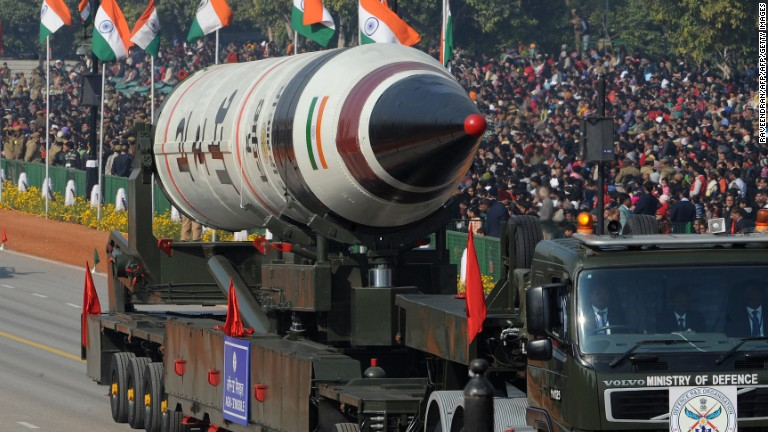 India tests nuclear-capable ICBM
