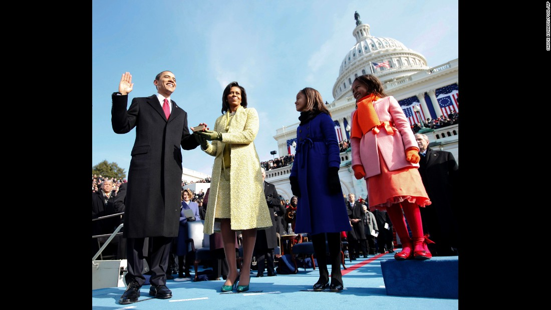 Photos: Presidential inaugurations past and present