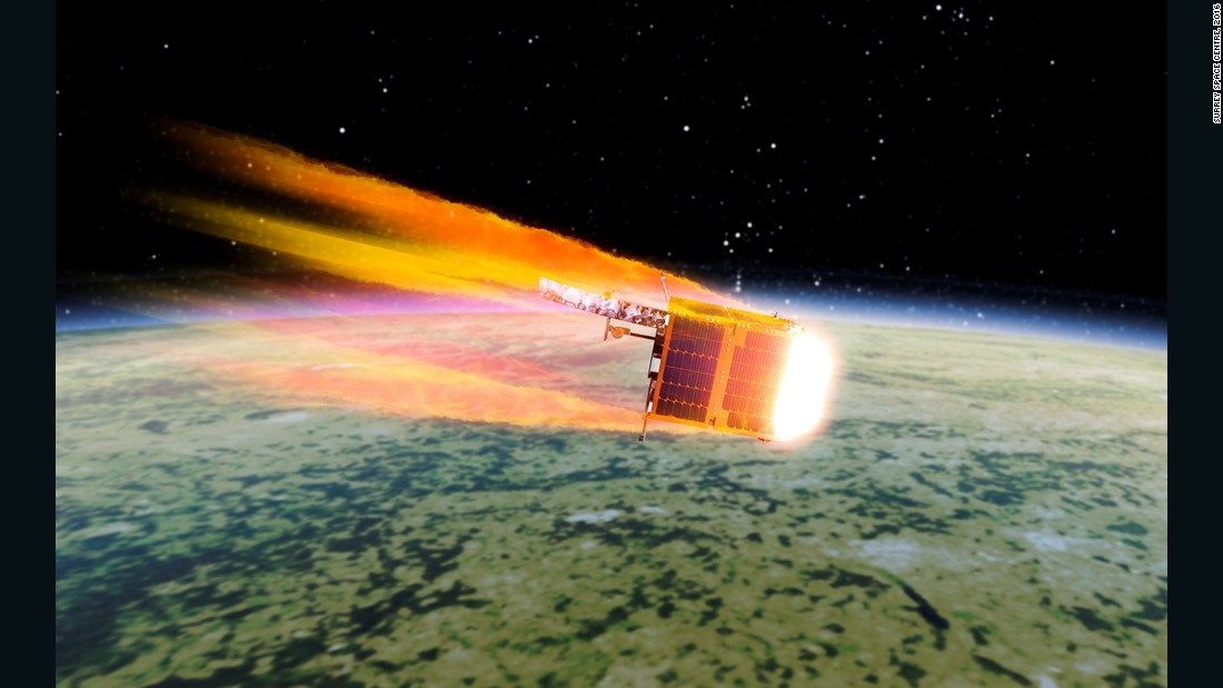 Space junk mission leads 2017 rocket launches