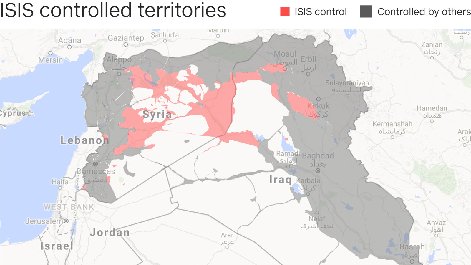 ISIS  As The Caliphate Crumbles ISIS Evolves CNN - Isis location map in us