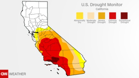 Californians drenched or in drought - CNN on california flooding 2014, california radiation map, california shade map, california population growth map, california water, california rain totals 2014, california rainfall, california mudslides 2014, san jose water district map, california poverty map, california office of emergency management, california smog map, california aquatic supply, california oil spill map, 2014 united states wildfires map, california counties historical maps, california el nino, california flooding map, ibew california map, california evapotranspiration map,