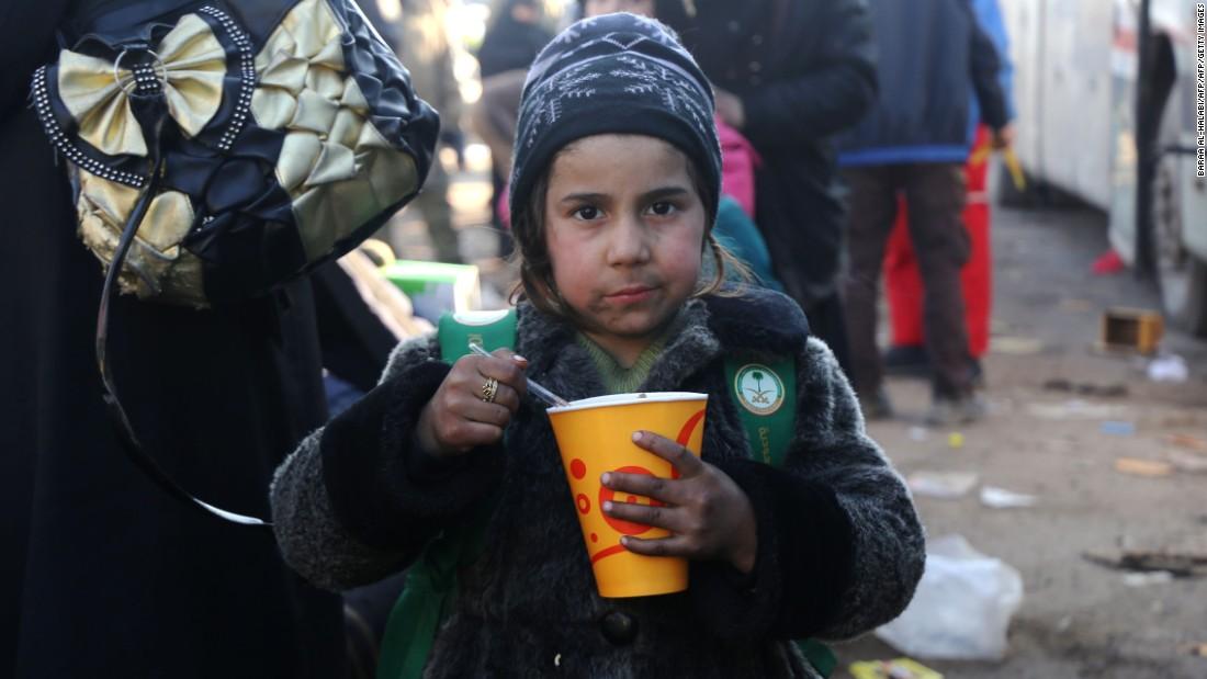 Inside rebel-held Syria, where children beg to die