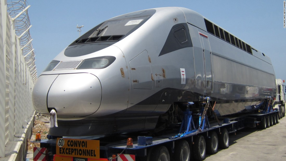 Morocco to get Africa's first high-speed train