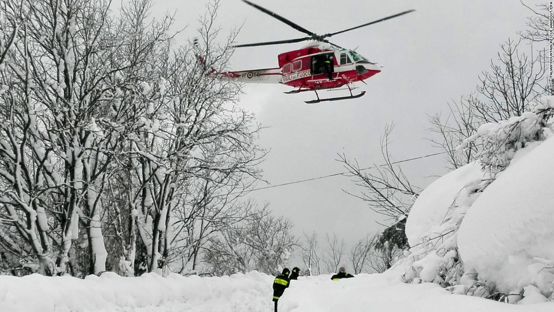 6 people found alive in hotel buried by snow