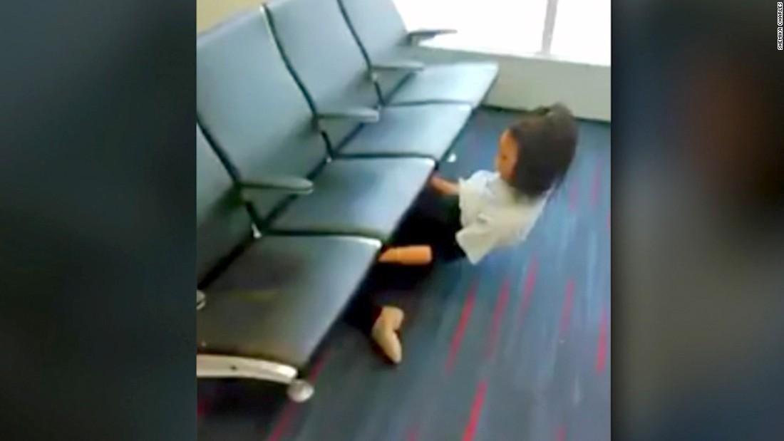 Limbo display at airport drops jaws