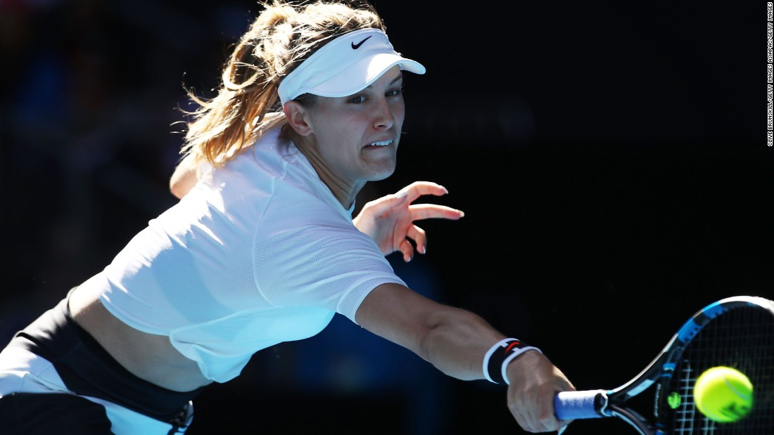 Genie Bouchard works to beat 'vicious cycle'