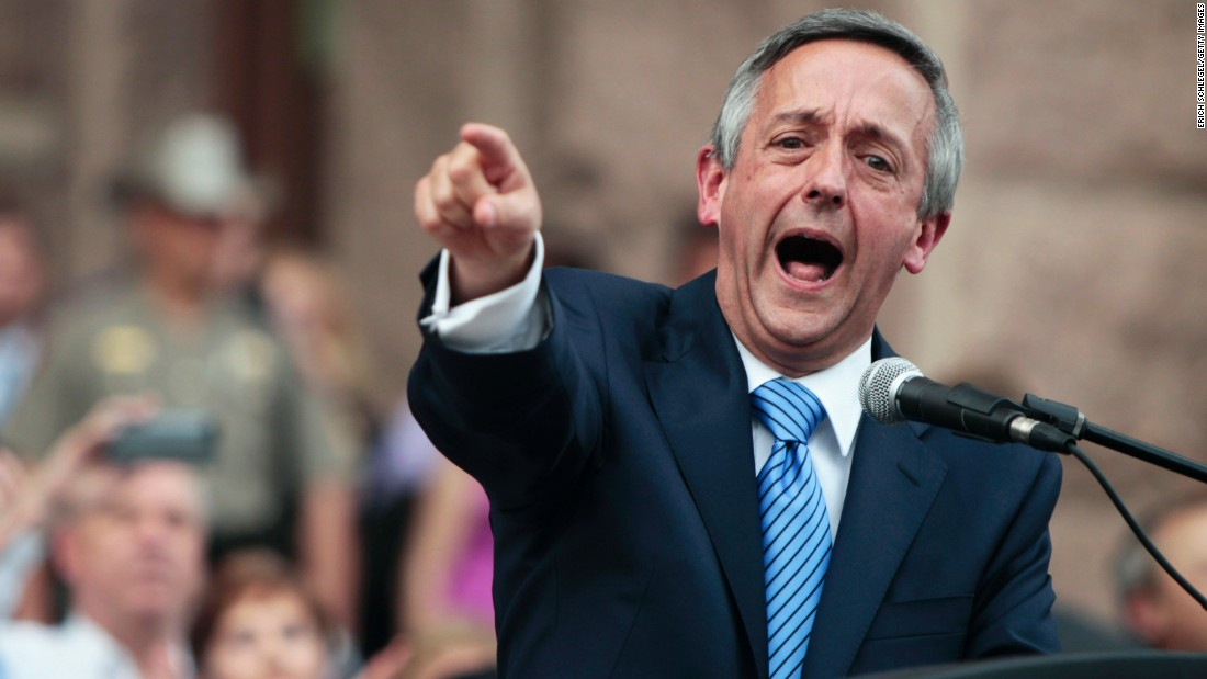 Inflammatory pastor preached to Trump