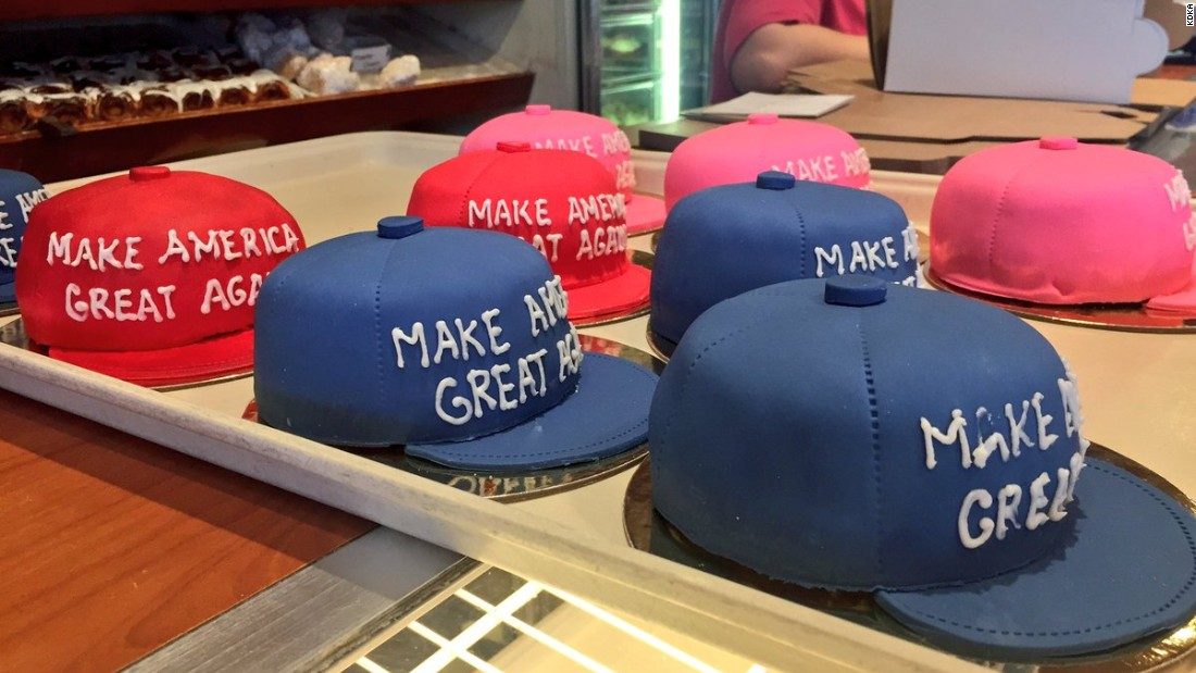 'Make America Great Again' cakes cause controversy
