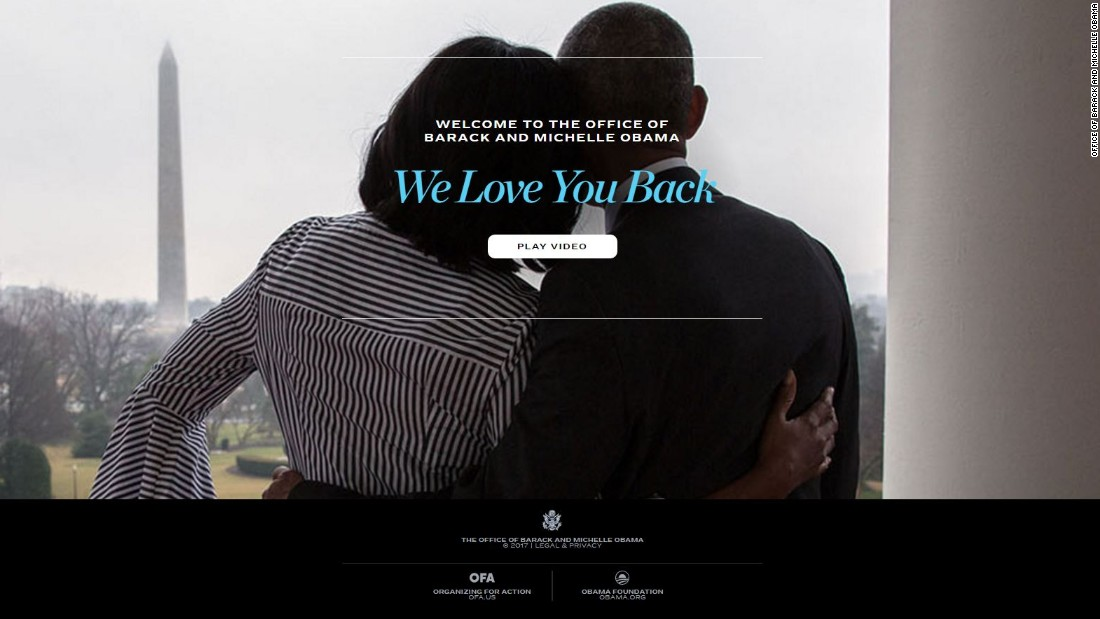 What happened to Obama's White House website?
