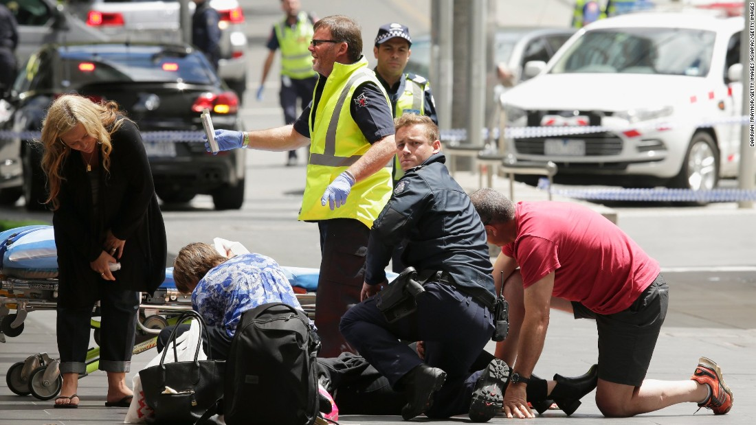 Australia: 3 dead as car plows into crowd in Melbourne