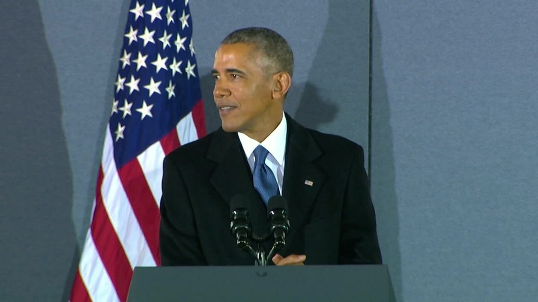 Obama's post-inauguration remarks: Full text