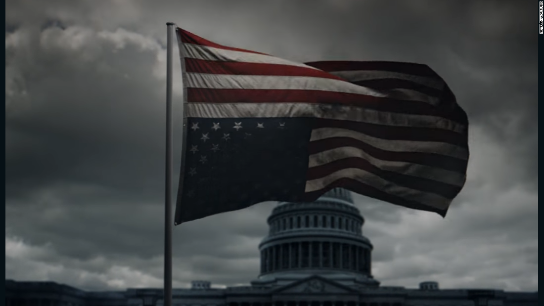 'House of Cards' releases new teaser on Inauguration Day