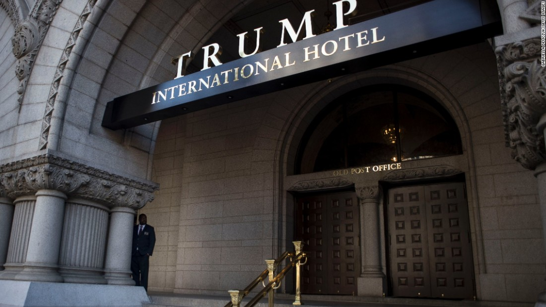 President Trump hit immediately with ethics complaint