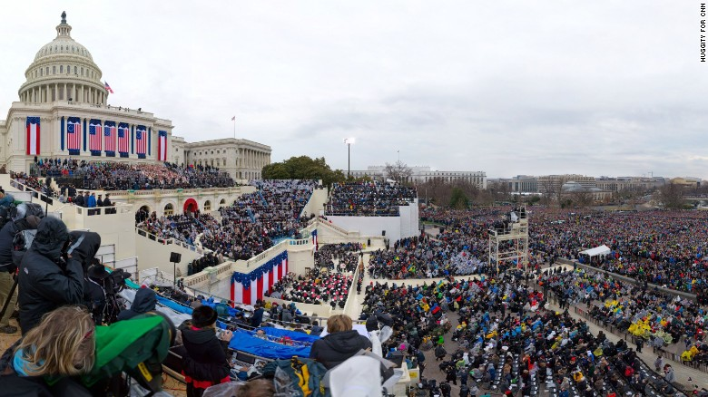 Have a look at Trump's inauguration crowd - not what you've been told