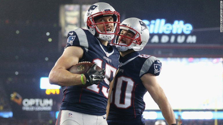 Patriots WR Chris Hogan takes an unlikely path to Super Bowl LI