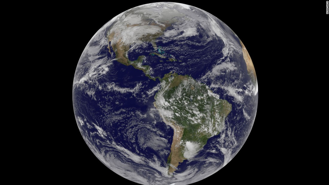 The Newest Highres Weather Images From Space CNN - Current satellite image of world
