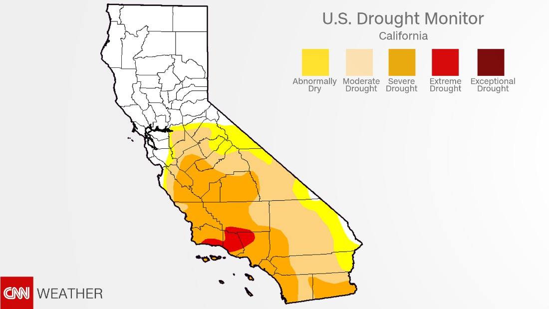 California drought Recent rains have almost ended it CNN
