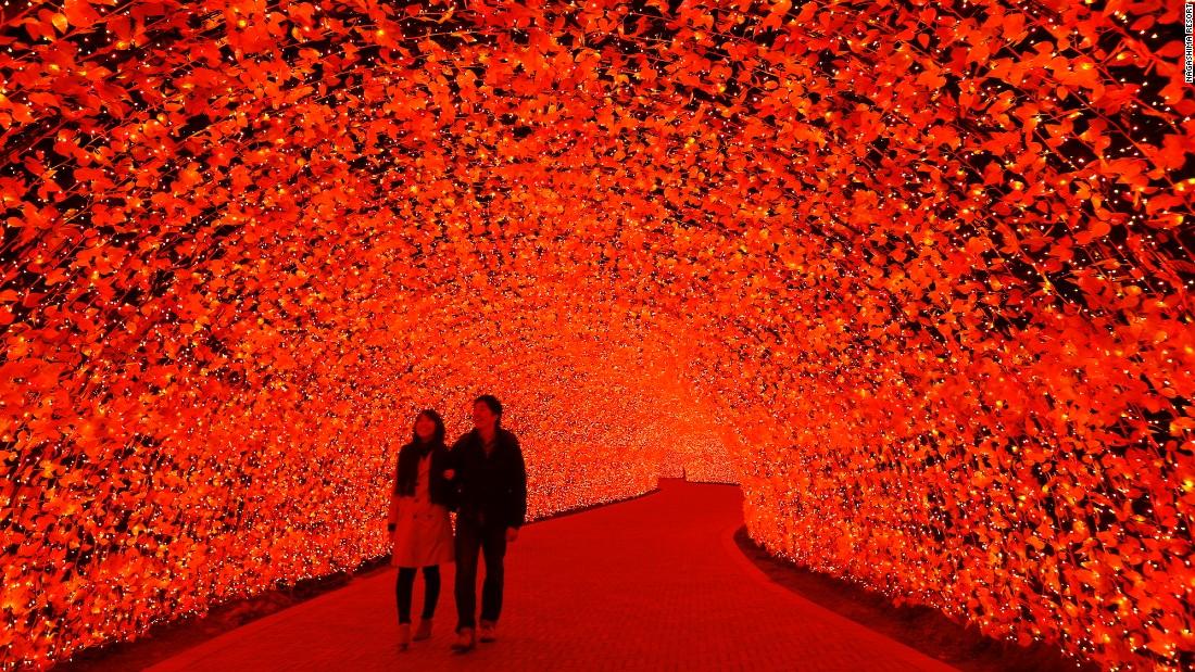 Japan's most extravagant light display