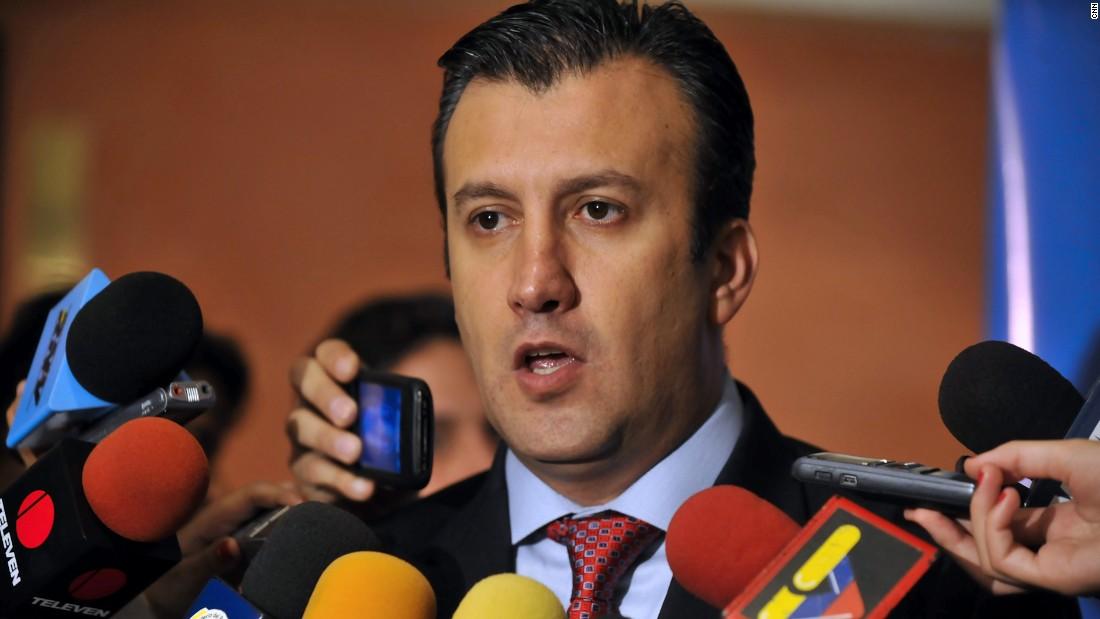 U.S. slaps sanctions on Venezuela's VP