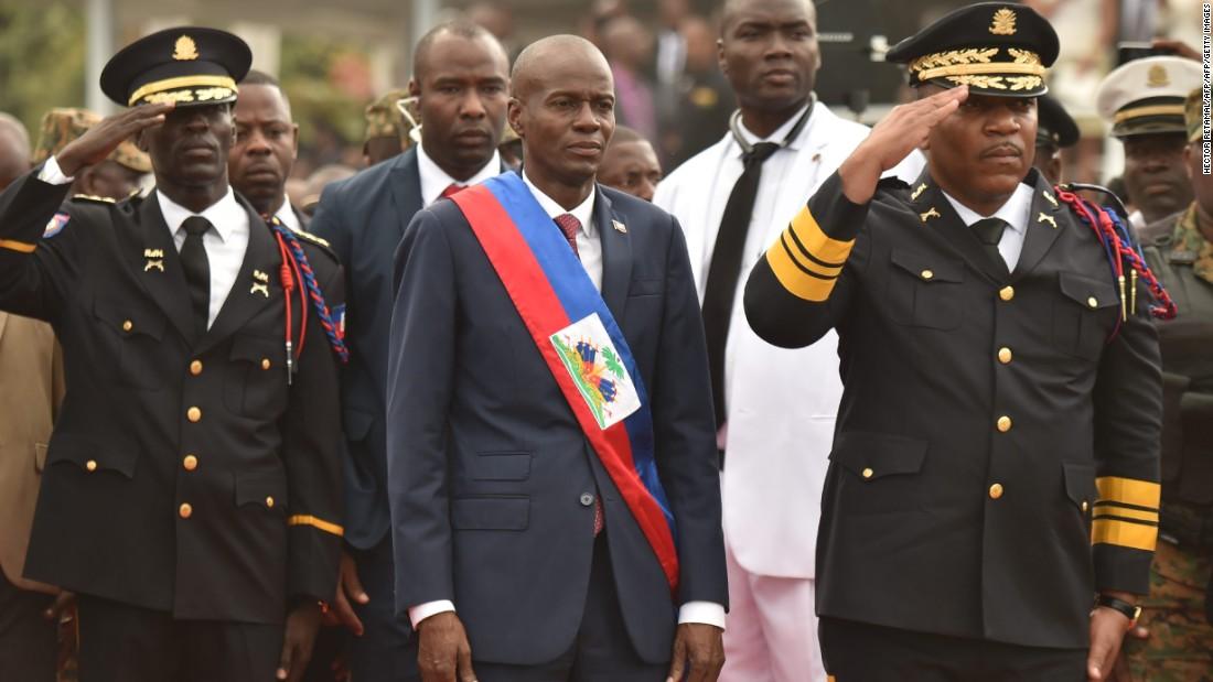 Haiti's new President sworn in