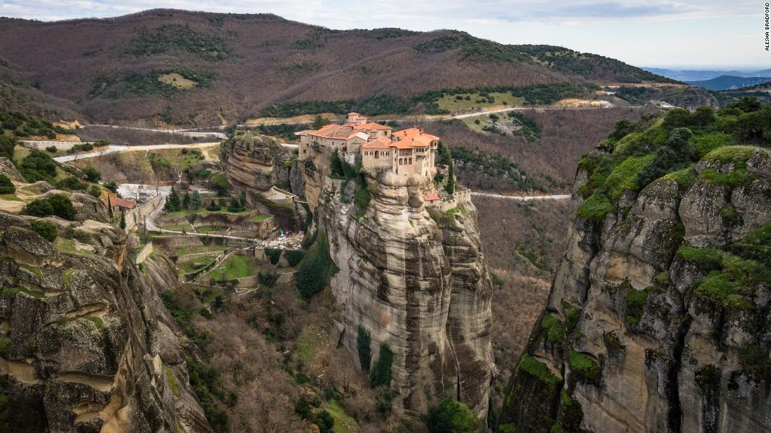 Greece's spectacular monasteries in the sky
