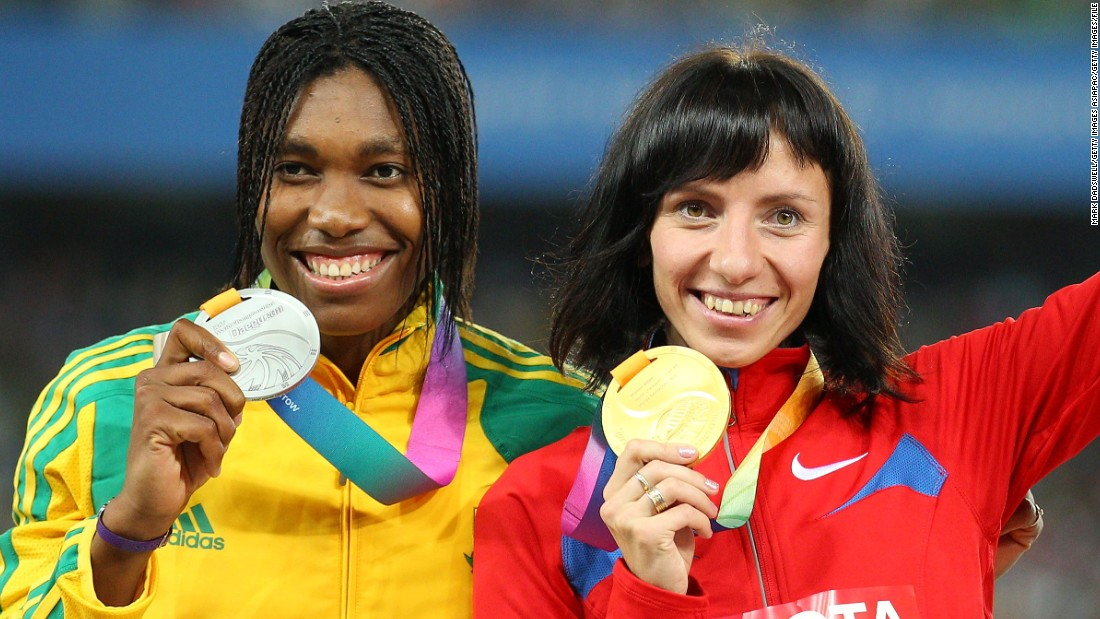 Semenya set for gold after Russian banned