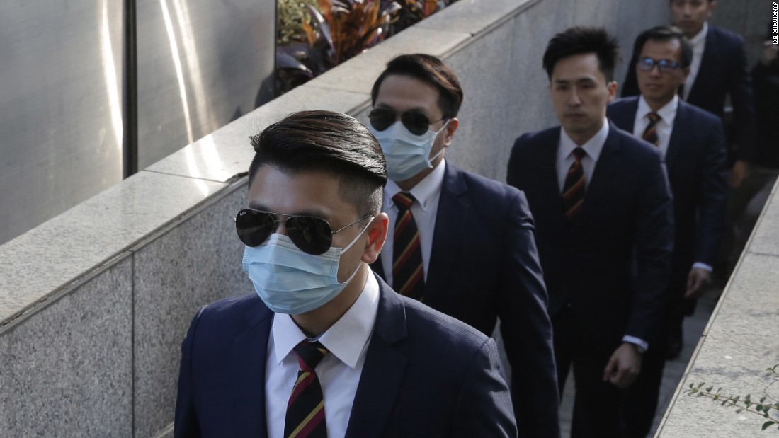 HK officers found guilty of assaulting protesters