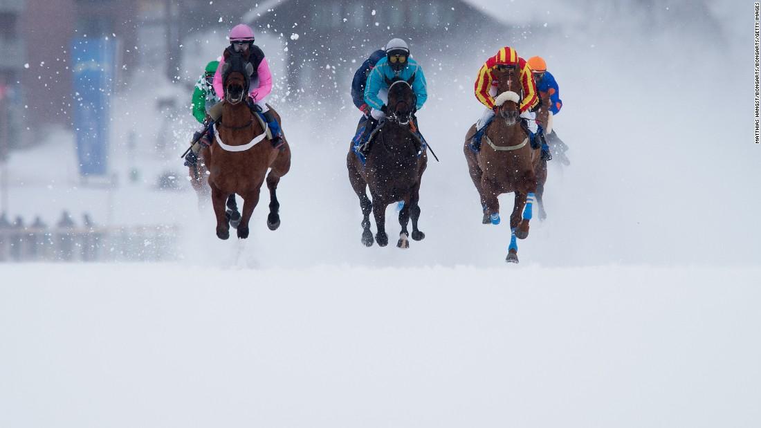 The horse race with an alpine edge