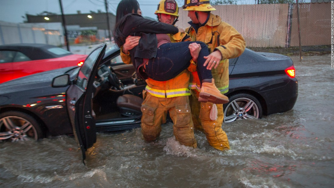 Deadly storms pound Southern California