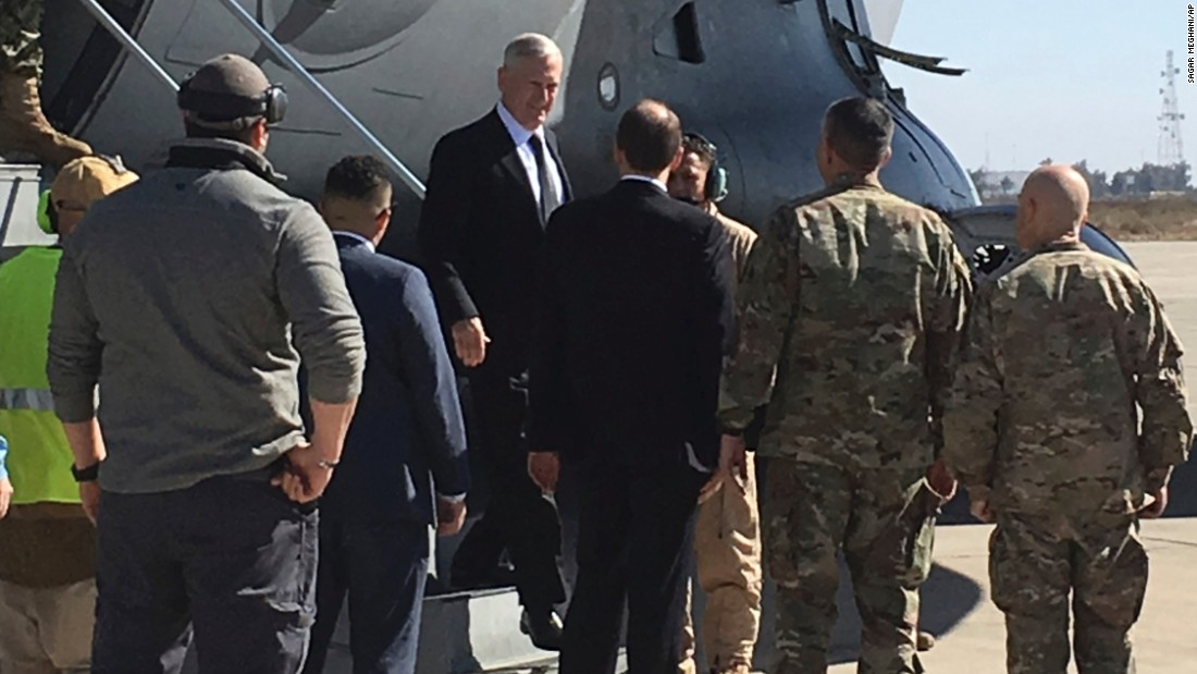 US Defense Secy: We're not in Iraq to seize oil