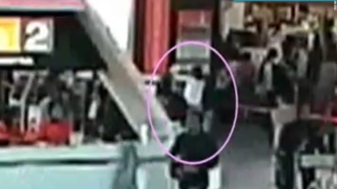 Video appears to show Kim Jong Nam attacked