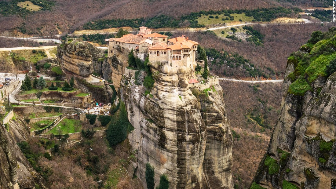 Greece's monasteries in the sky
