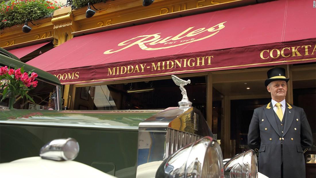 Capital culinary classics: London's oldest restaurants