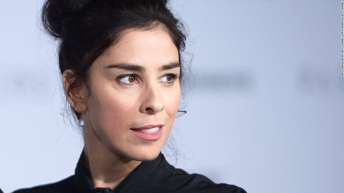 Sarah Silverman: If 'you're not political...'