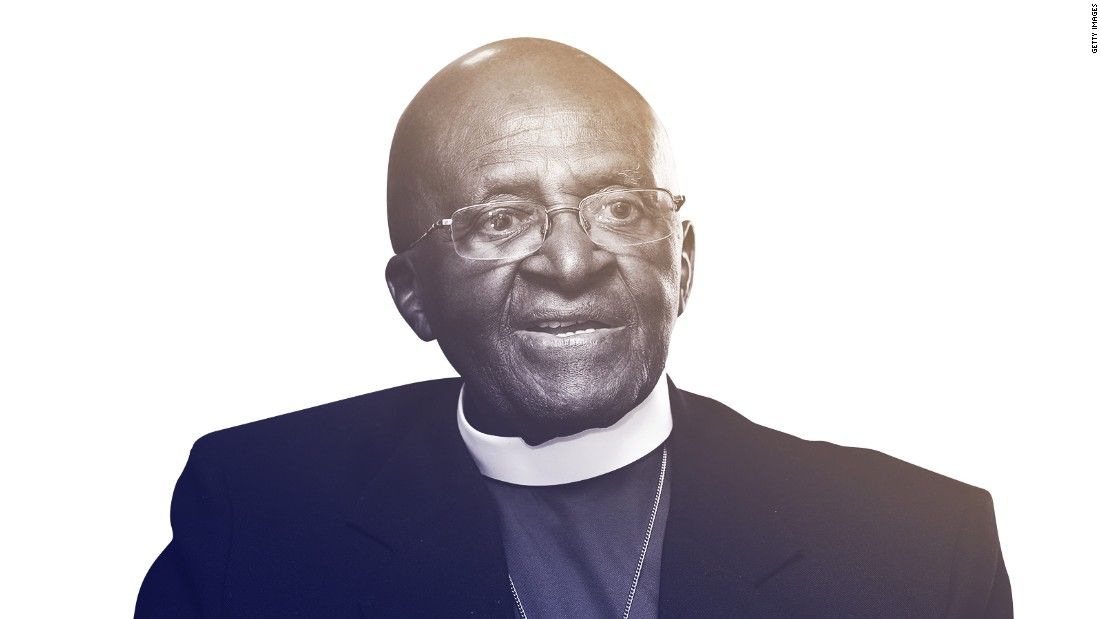 Desmond Tutu: 'God, I don't mind if I die now'