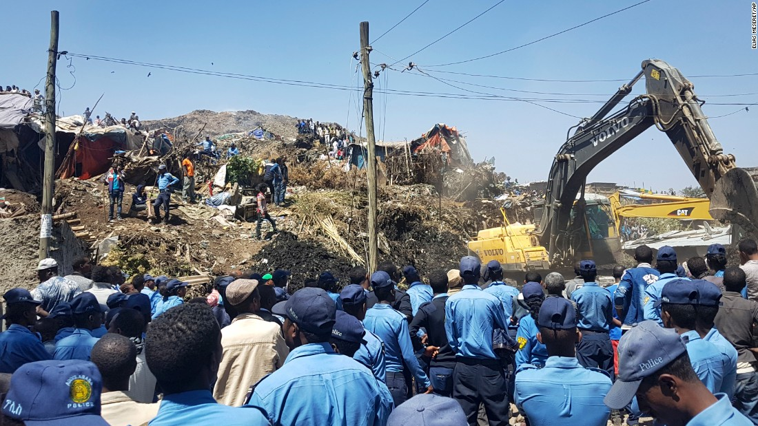 Death toll rises after trash dump landslide
