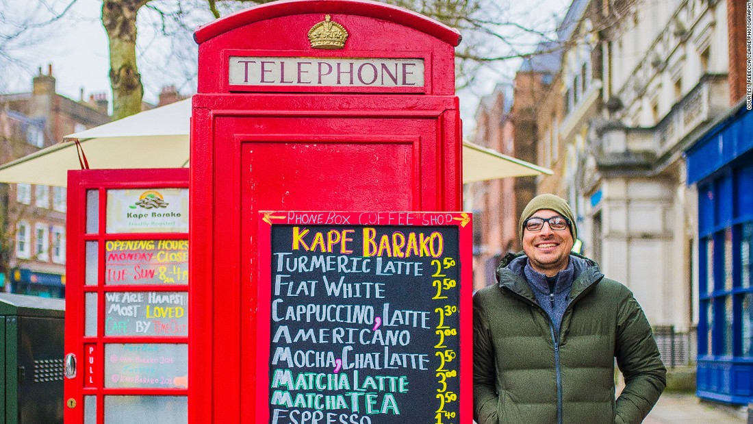 Britain's red telephone boxes get a makeover