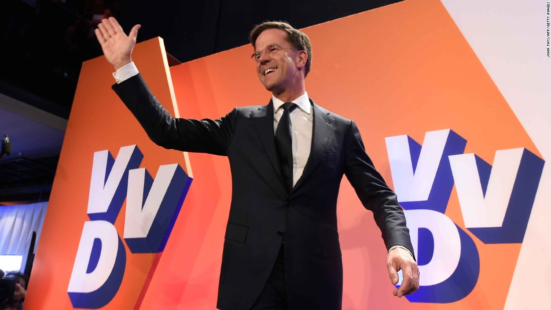Dutch election: Rutte's victory is official