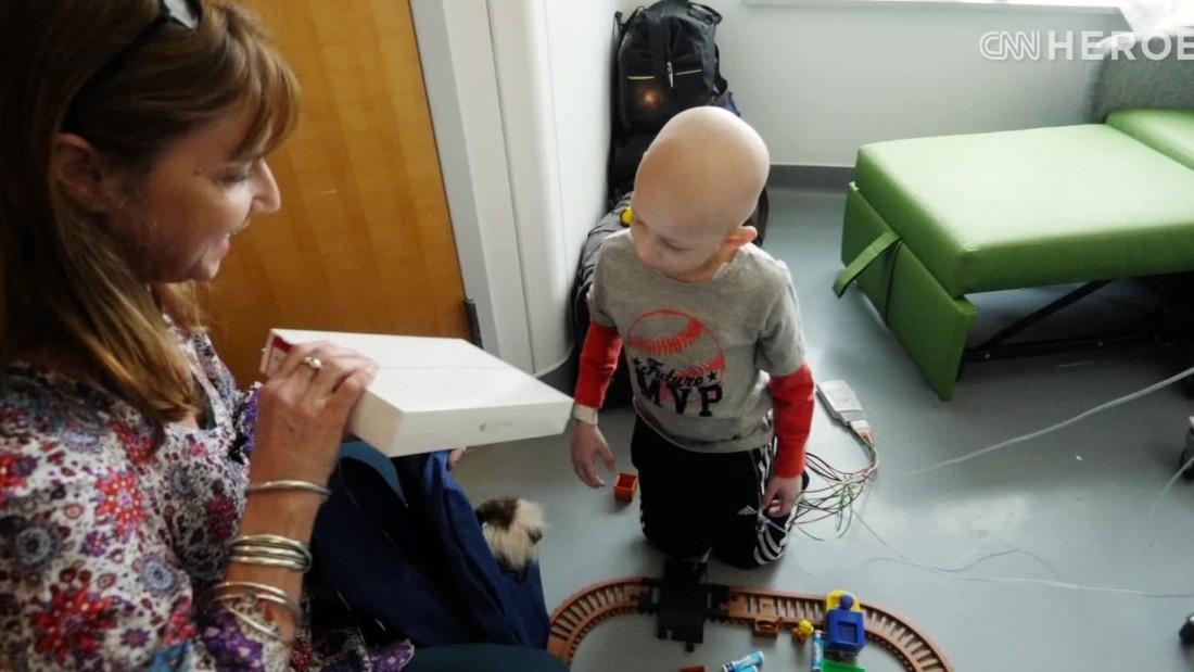 Robots go to school in place of sick kids
