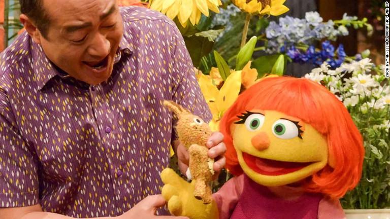 Meet 'Sesame Street's' muppet with autism