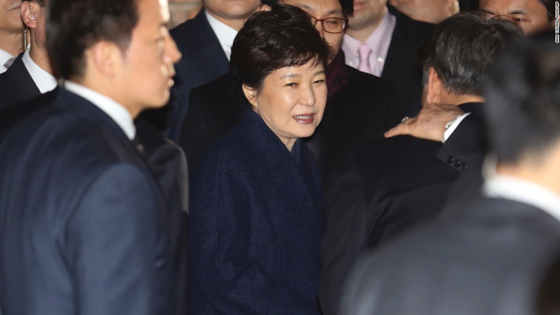 Arrest warrant sought for ousted S. Korean President