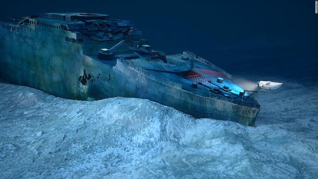 Titanic diving tours go on sale