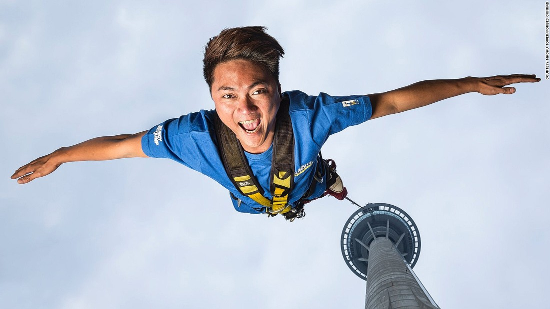 15 of the world's best bungee jumps